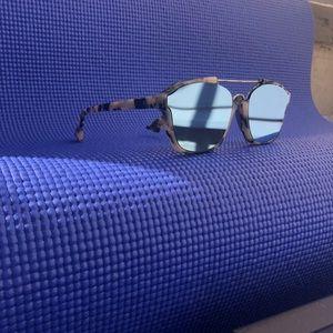 5cc3a26b711cd Dior Accessories - Dior Abstract Blue Mirrored Sunglasses A4E A4 58